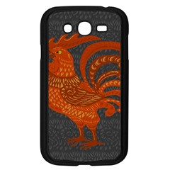 Chicken year Samsung Galaxy Grand DUOS I9082 Case (Black)