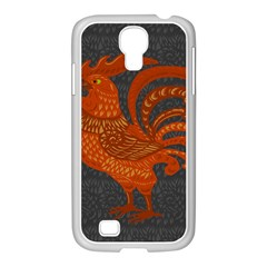 Chicken year Samsung GALAXY S4 I9500/ I9505 Case (White)