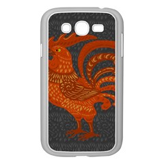 Chicken year Samsung Galaxy Grand DUOS I9082 Case (White)