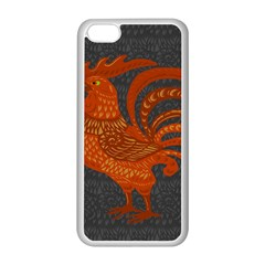 Chicken year Apple iPhone 5C Seamless Case (White)