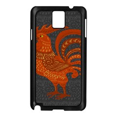 Chicken year Samsung Galaxy Note 3 N9005 Case (Black)