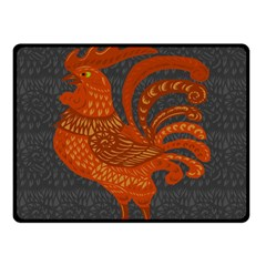 Chicken year Double Sided Fleece Blanket (Small)