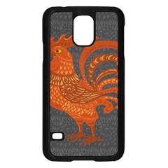 Chicken year Samsung Galaxy S5 Case (Black)