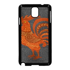 Chicken year Samsung Galaxy Note 3 Neo Hardshell Case (Black)