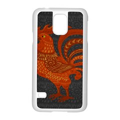 Chicken year Samsung Galaxy S5 Case (White)