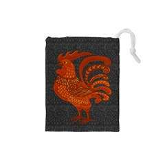 Chicken year Drawstring Pouches (Small)