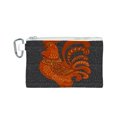 Chicken year Canvas Cosmetic Bag (S)