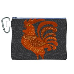 Chicken year Canvas Cosmetic Bag (XL)