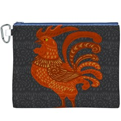 Chicken year Canvas Cosmetic Bag (XXXL)
