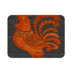 Chicken year Double Sided Flano Blanket (Mini)