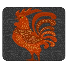Chicken year Double Sided Flano Blanket (Small)