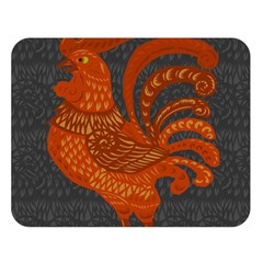 Chicken year Double Sided Flano Blanket (Large)