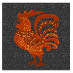 Chicken year Large Satin Scarf (Square)