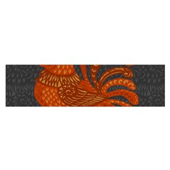 Chicken year Satin Scarf (Oblong)
