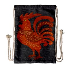 Chicken year Drawstring Bag (Large)