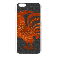Chicken year Apple Seamless iPhone 6 Plus/6S Plus Case (Transparent)