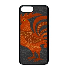 Chicken year Apple iPhone 7 Plus Seamless Case (Black)