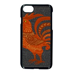 Chicken year Apple iPhone 7 Seamless Case (Black)