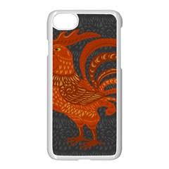 Chicken year Apple iPhone 7 Seamless Case (White)