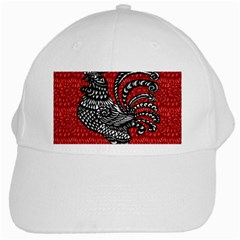 Year of the Rooster White Cap