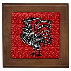 Year of the Rooster Framed Tiles