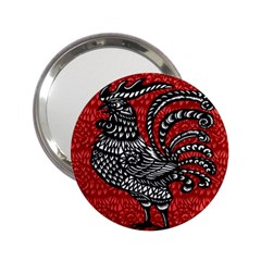 Year of the Rooster 2.25  Handbag Mirrors