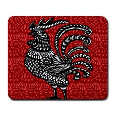 Year of the Rooster Large Mousepads