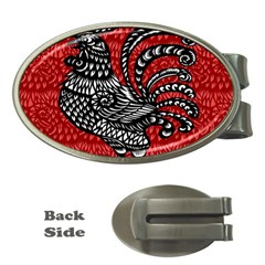 Year of the Rooster Money Clips (Oval)