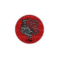 Year of the Rooster Golf Ball Marker (4 pack)