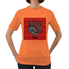 Year of the Rooster Women s Dark T-Shirt