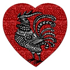 Year of the Rooster Jigsaw Puzzle (Heart)