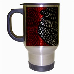 Year of the Rooster Travel Mug (Silver Gray)