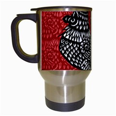 Year of the Rooster Travel Mugs (White)