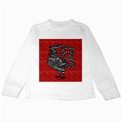 Year of the Rooster Kids Long Sleeve T-Shirts