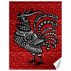 Year of the Rooster Canvas 12  x 16