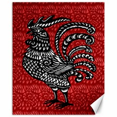 Year of the Rooster Canvas 16  x 20