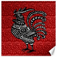 Year of the Rooster Canvas 20  x 20