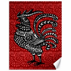 Year of the Rooster Canvas 18  x 24