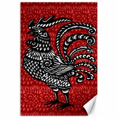 Year of the Rooster Canvas 20  x 30