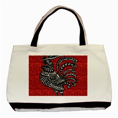 Year of the Rooster Basic Tote Bag (Two Sides)