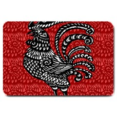 Year of the Rooster Large Doormat
