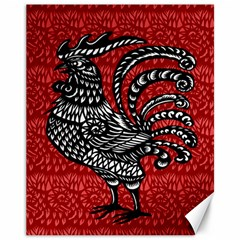 Year of the Rooster Canvas 11  x 14