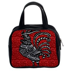 Year of the Rooster Classic Handbags (2 Sides)