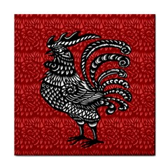 Year of the Rooster Face Towel