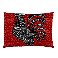 Year of the Rooster Pillow Case