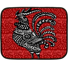 Year of the Rooster Double Sided Fleece Blanket (Mini)