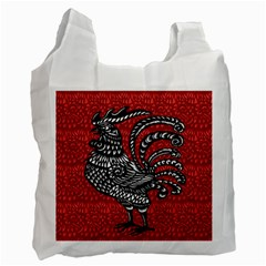 Year of the Rooster Recycle Bag (One Side)