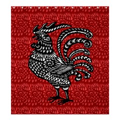 Year of the Rooster Shower Curtain 66  x 72  (Large)
