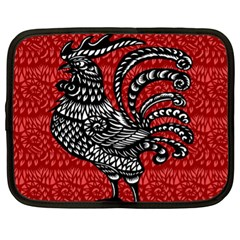Year of the Rooster Netbook Case (XL)