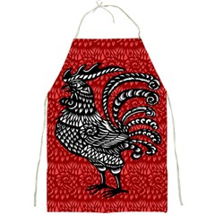 Year of the Rooster Full Print Aprons